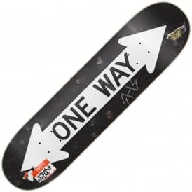Primitive Skateboarding Rodriguez One Way Skateboard Deck 8.0""