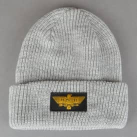 Primitive Skateboarding Thunderbird Skate Beanie - Heather Grey
