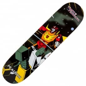 Primitive Skateboarding x Transformers Hot Rod Peacock Skateboard Deck 8.0""
