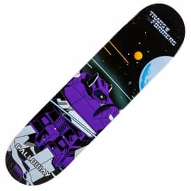 Primitive Skateboarding x Transformers Shockwave Calloway Skateboard Deck 8.0""