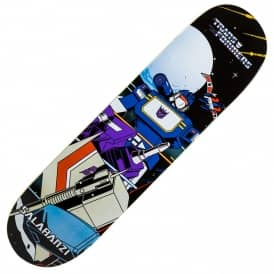 Primitive Skateboarding x Transformers Soundwave Salabanzi Skateboard Deck 8.25""