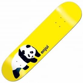 db393784d75 Enjoi Original Panda Yellow Skateboard Deck 7.9