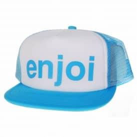 36b2ffce4a1 Enjoi Sloshball Trucker Cap Turquoise · Enjoi Skateboards
