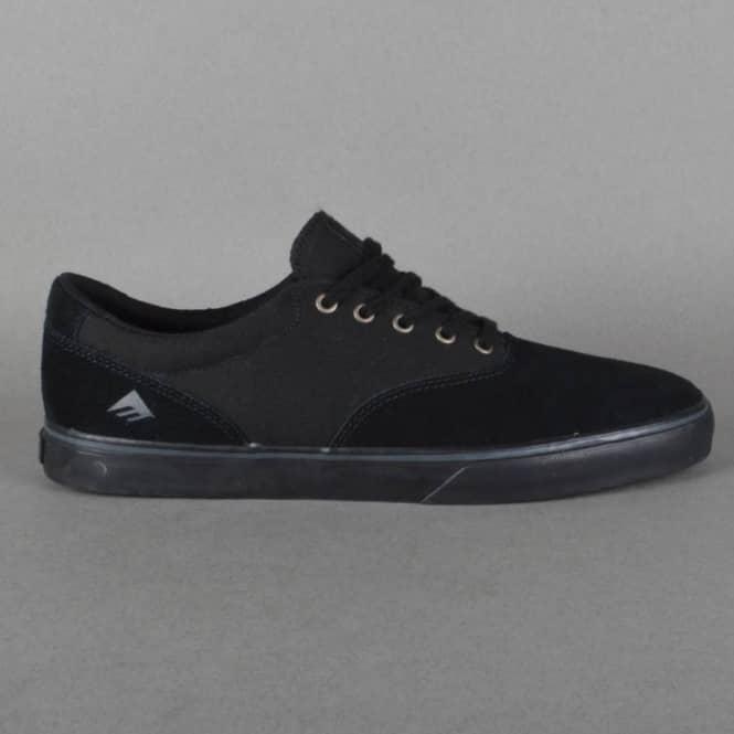 Provost Slim Vulc Skate Shoes - Black/Black