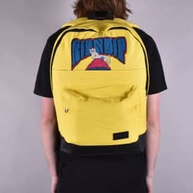 Psychedelic Backpack - Yellow