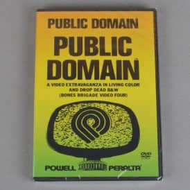 Public Domain (Bones Brigade Video Four) Skateboard DVD