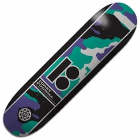 Pudwill Camo BLK ICE Skateboard Deck 8.25