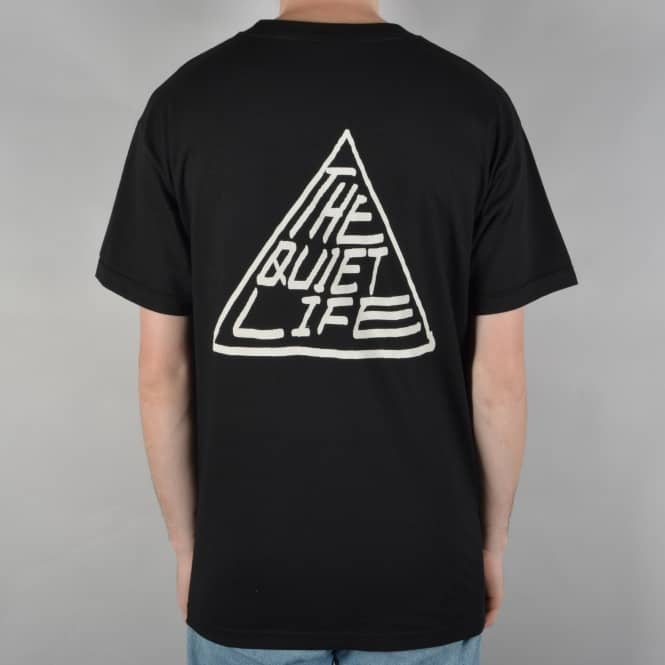 The Quiet Life Pyramid T-Shirt - Black