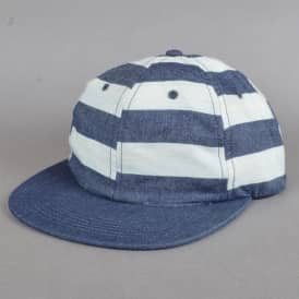 Bars Strapback Cap - Denim