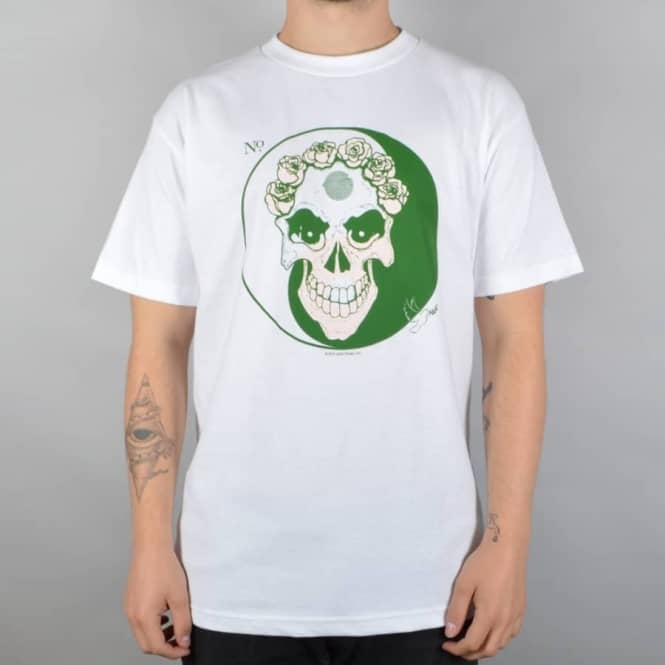 Quasi Skateboards Bazaar Skate T-Shirt - White