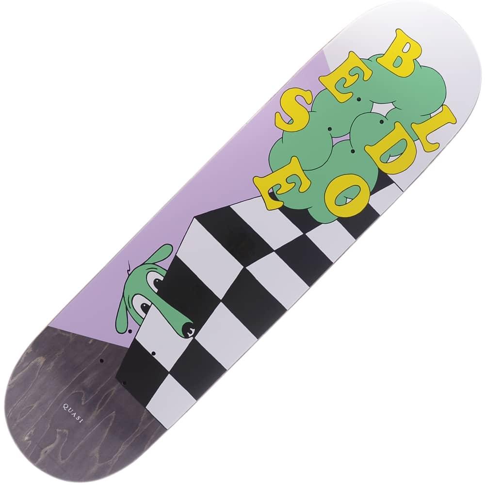 3d3785b46931 Quasi Skateboards Bledsoe Bella Lavender Skateboard Deck 8.25 ...