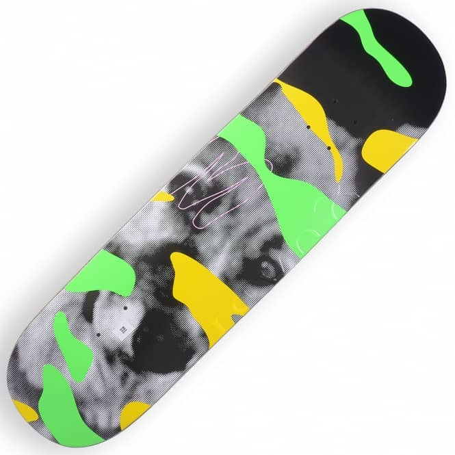 Quasi Skateboards Crockett Maxdog Green Skateboard Deck 8.25