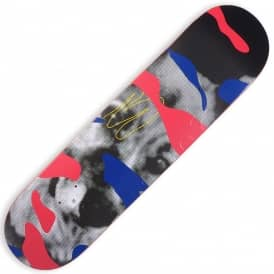 Quasi Skateboards Crockett Maxdog Red Skateboard Deck 8.0""