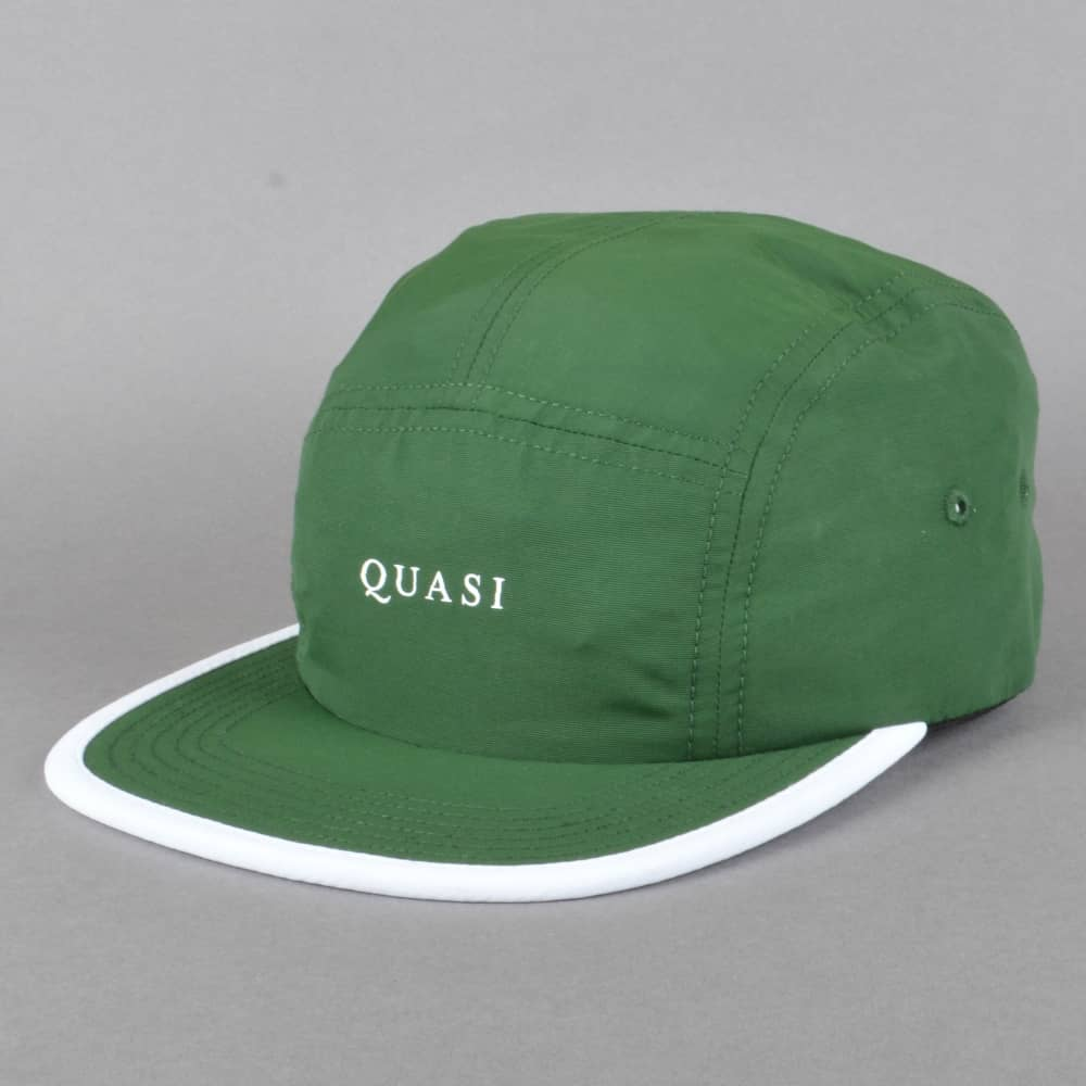 b5a66eea2a4 Quasi Skateboards Five 5 Panel Cap - Forest Green - SKATE CLOTHING ...