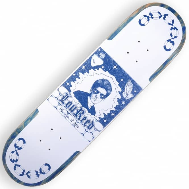 Quasi Skateboards Lewis Medium (Blue Stain) Skateboard Deck 8.375