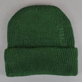 Quasi Skateboards Low Fold Up Beanie - Forest