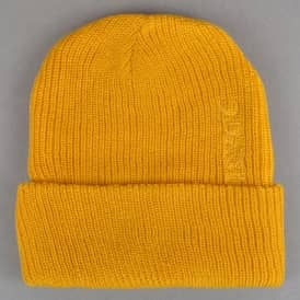 Quasi Skateboards Low Fold Up Beanie - Gold