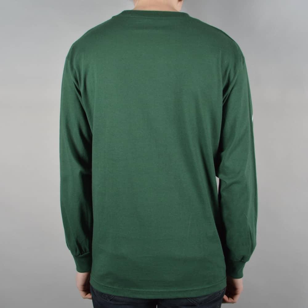 ee2c883790d Quasi Skateboards Mono Longsleeve T-Shirt - Forest Green - SKATE ...