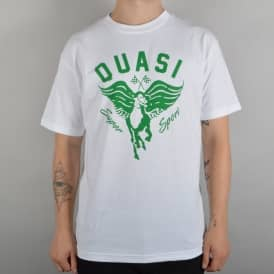 Super Sport Skate T-Shirt - White/Green