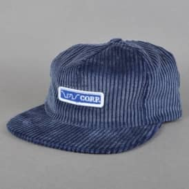 Quasi Skateboards Whatever Corduroy Cap - Frosted Indigo