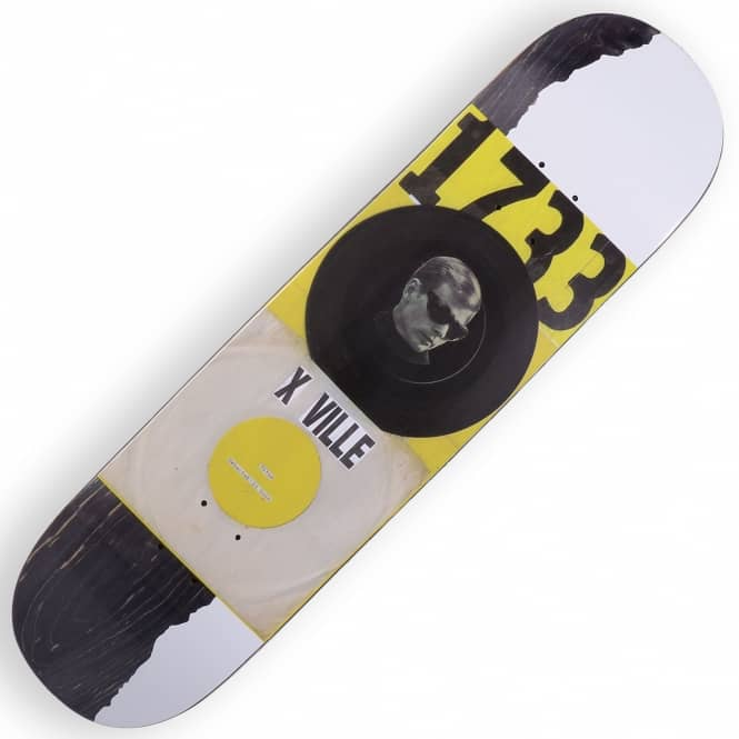 Quasi Skateboards X-Ville Catalogue #1733 Skateboard Deck 8.25