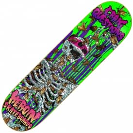 Questions Hirotton Vicious Nature Skateboard Deck 8.5
