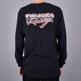 f3aef982cfe9 Racing Long Sleeve Skate T-Shirt - Black