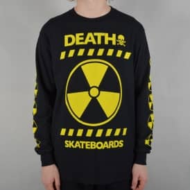 RAD Longsleeve T-Shirt - Black/Yellow