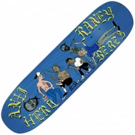 Raney The Clubhouse Custom Shape (Blue Stain) Skateboard Deck 8.63