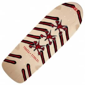 Rat Bones Natural Reissue Skateboard Deck - 10.0