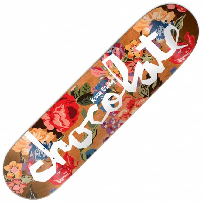 Chocolate Skateboards Raven Tershy Floral Chunk Skateboard Deck 8.5""