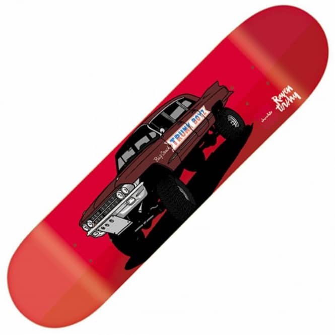 Chocolate Skateboards Raven Tershy Monster Truck Skateboard Deck 8.375''