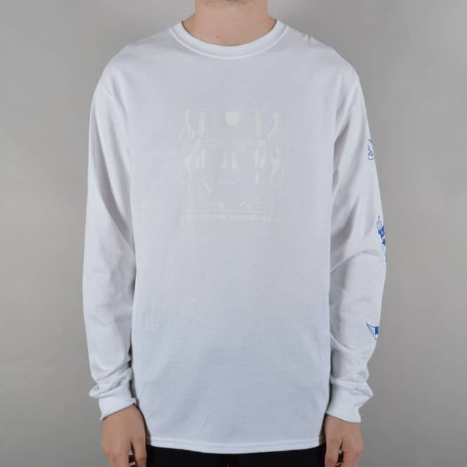 The National Skateboard Co. Ravers Longsleeve T-Shirt - White