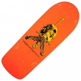 Ray Rodriguez Skull And Sword OG Snub Orange Skateboard Deck 10.0
