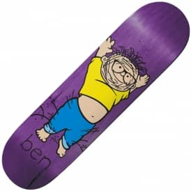 Raybourn Pigben Popsicle (Purple Stain) Skateboard Deck 8.38