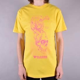 Real Hell Skate T-Shirt - Yellow