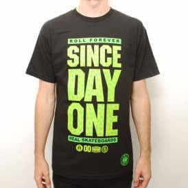 Real SDO HUF Skate T-Shirt - Black