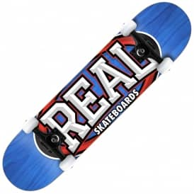 Real Skateboards Alumni Large Complete Skateboard 8.0""