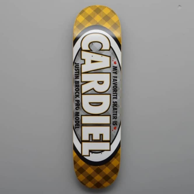 Real Skateboards Brock My Favorite Pro Skateboard Deck 8.25