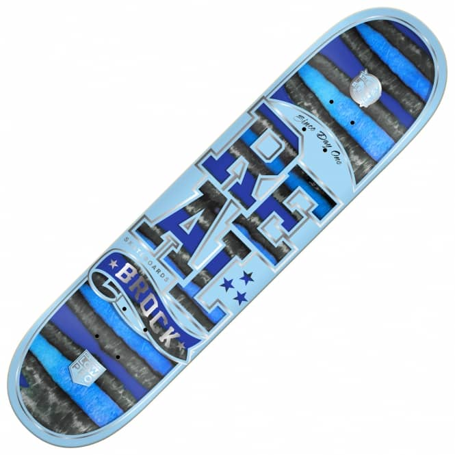 Real Skateboards Brock Spectrum Low Pro II Skateboard Deck 8.5