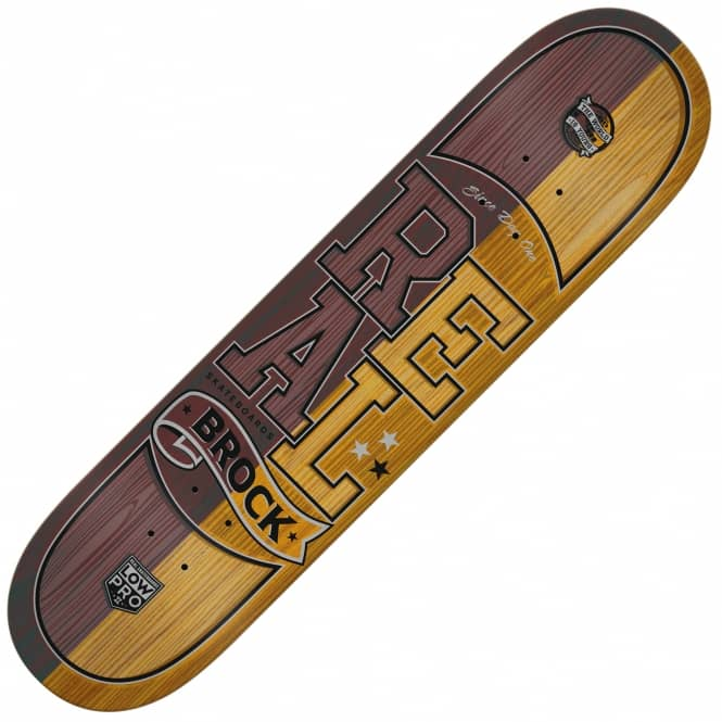Real Skateboards Brock Timber LTD Skateboard Deck 8.25