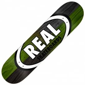 Double Dipped Oval Skateboard Deck 8.75
