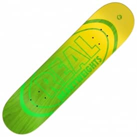 Heavyweights Green Skateboard Deck 8.5