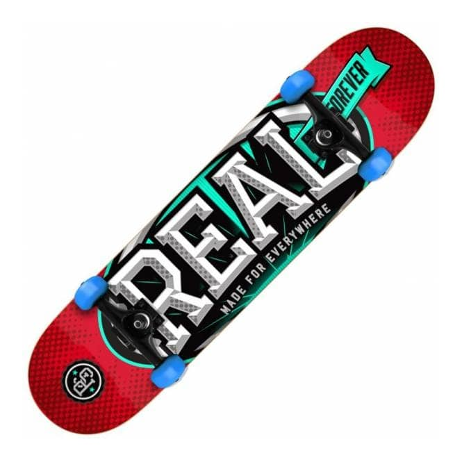 Real Skateboards League Oval Small Complete Skateboard 7.5