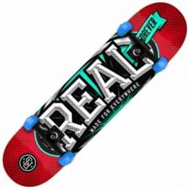 Real Skateboards League Oval Small Complete Skateboard 7.5""