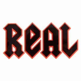 Real Skateboards New Deeds Skateboard Sticker - Red