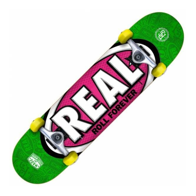 Real Skateboards Oval Tones Medium Complete Skateboard 7.75