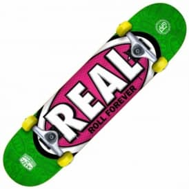 Real Skateboards Oval Tones Medium Complete Skateboard 7.75""