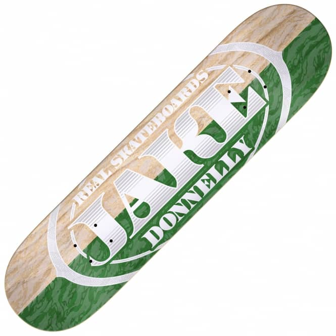 Real Skateboards Premium Oval Two Tone Donnelly Skateboard Deck 8.25