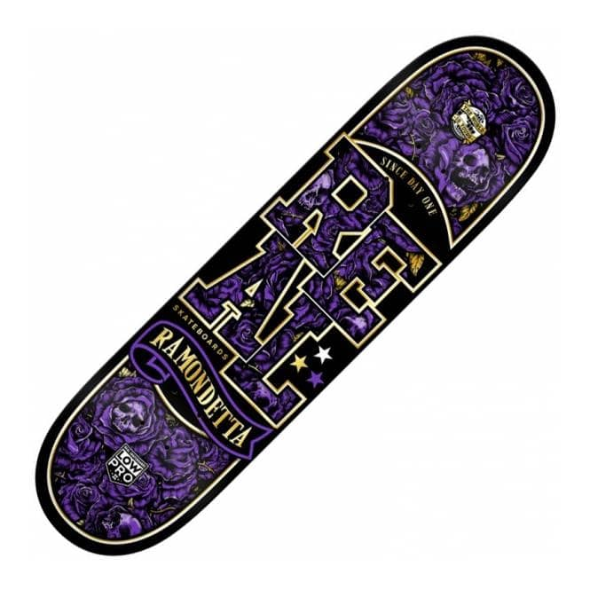 Real Skateboards Ramondetta Hellbound Low Pro II Skateboard Deck 8.43